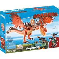 Playmobil Dragons Rotzbakke und Hakenzahn 9459