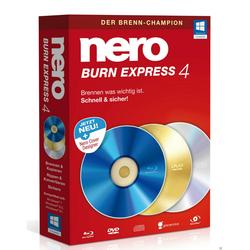 Nero Burn Express 4, 1 gebruiker, winnen