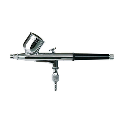 ROWI Airbrush-Kompressor Double Action 45/3/1, (Set), Spritzpistole, max. 3,5 bar