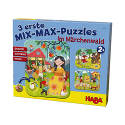 Haba Puzzle 3 erste Mix-Max-Puzzles - Im Märchenwald, Puzzleteile