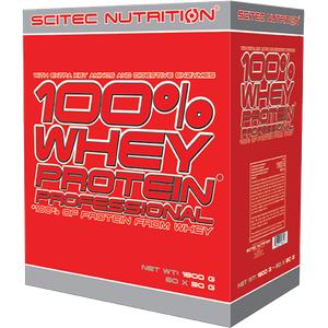 Scitec Nutrition - 100% Whey Protein Professional, 30x30g Portionsbeutel (Geschmack: Erdbeer Weisse Schokolade)