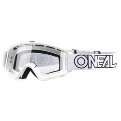 O'Neal Crossbrille B-Zero Weiß Anti-Fog