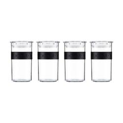 Bodum Presso Vorratsgläser 4 Stück 250 ml