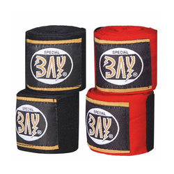 BAY-Sports Boxbandagen Mega 3,5 m Box-Bandagen Handbandagen Boxen rot