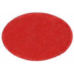 Hochflor-Teppich Soft, TOM TAILOR, rund, Höhe 35 mm, super weich und flauschig rot