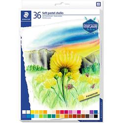 Soft-Pastellkreiden, 36 Farben