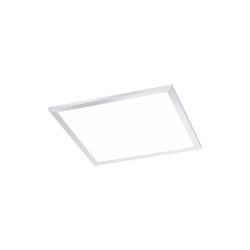 Paul Neuhaus LED-Deckenleuchte Flat in weiß, 45 x 45 cm