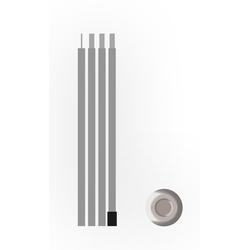 Zeltstange, » Steel pole«, Zeltstangen, 11788938-0 silberfarben silberfarben