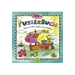 Puzzlebuch - Tiger und Bär machen einen Ausflug. Lena Steinfeld   Janosch  - Buch