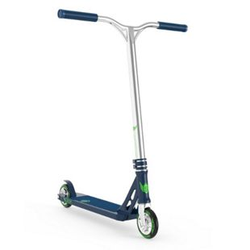Longway Stunt-Scooter Sector blau chrome
