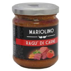 Fleischragout, Tomatensauce mit Hackfleisch, 314 ml - Mariolino