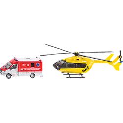SIKU Rettungsdienst-Set Miniatur Zubehör Mehrfarbig