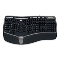 Microsoft Natural Ergonomic Keyboard 4000 DE schwarz (B2M-00001) ab 35.00 € im Preisvergleich