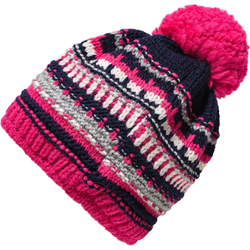 MAXIMO Bommelmütze Bommelmütze für Mädchen rosa 51