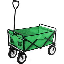 Bollerwagen, grün, faltbar