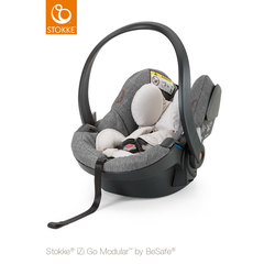 STOKKE® Babyschale iZi Go™ Modular™ X1 by BeSafe® Black Melange