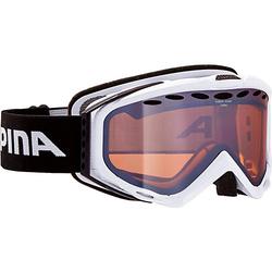 Skibrille Turbo white HM weiß