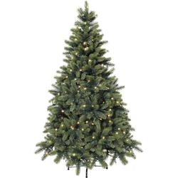 Künstlicher Weihnachtsbaum, mit LED-Lichterkette Ø 95 cm x 150 cm