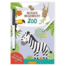 Ruckzuck weggewischt! Zoo - Buch