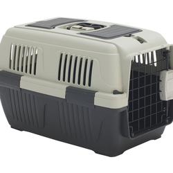 Dehner Tiertransportbox Transportbox Thilo für Hund/Katze, 57 x 37 x 35 cm