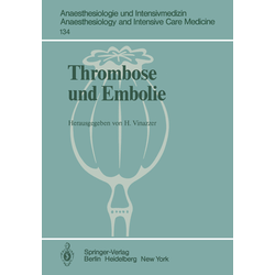Thrombose und Embolie als Buch von