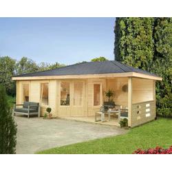 Wolff 5-Eck-Gartenhaus Anna 40-A/1