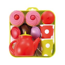 Ecoiffier Spielgeschirr Tee-Set Tablett mit Cupcakes Spielgeschirr