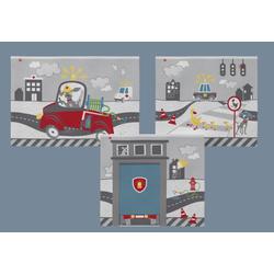Flexa Textil Spielvorhang little Heroes 83-20249