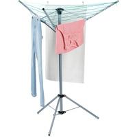 Relaxdays Wäscheständer Wäschespinne, mit Standfuß,