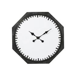KARE Uhr Wanduhr Octagon 66cm