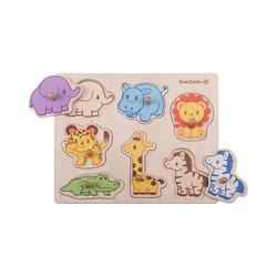 "EverEarth® Steckpuzzle Puzzle ""Safari"", Puzzleteile"
