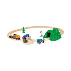 BRIO® Spielzeugeisenbahn-Set Starterset Güterzug mit Kran A