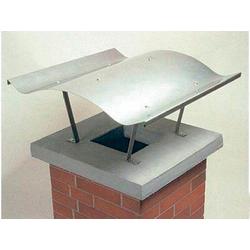 Kamindach 70 x 67 cm/ Kaminabdeckung aus Edelstahl V2A