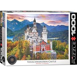 empireposter Puzzle Schloß Neuschwanstein - 1000 Teile Puzzle - Format 68x48 cm, 1000 Puzzleteile