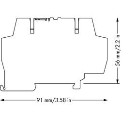 WAGO 859-398 Relaisklemme Nennspannung: 24 V/DC 1St.