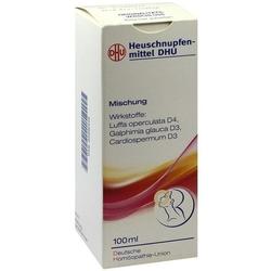 HEUSCHNUPFENMITTEL DHU Mischung 100 ml