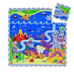 Hakuna Matte Puzzlematte - Ocean (120 x 120 cm)