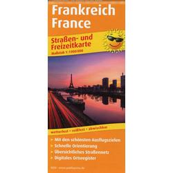 Frankreich France 1:1.000.000