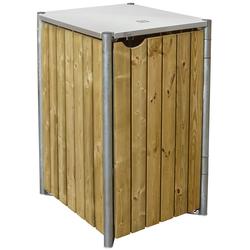 HIDE Mülltonnenbox für 1x 140 l,natur,