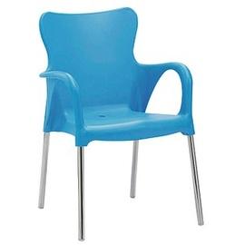 BEST Freizeitmöbel Maui Stapelsessel 54 x 52 x 81 cm blau