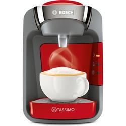 Bosch Tassimo Suny TAS3208 Kaffeemaschinen - Rot / Grau
