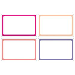 HERMA 10663 Beschriftungsetiketten 52x82 mm pink/lila ablösbar Papier matt Handbeschriftung 80 Stück