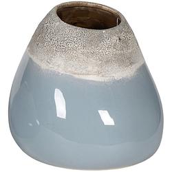 Keramikvase in 2 Ausführungen (B/T/H): 18 x 22 x 24 cm