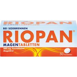 RIOPAN Magen Tabletten Kautabletten 50 St.
