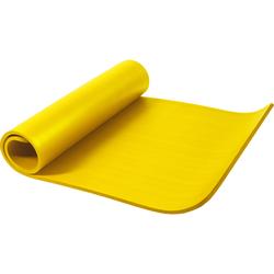 Yogamatte Gelb 190 x 100 x 1,5 cm