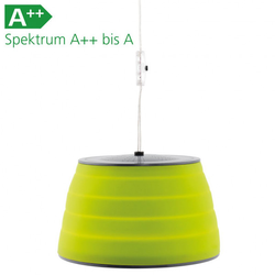 Zeltlampe Sargas Lux grün