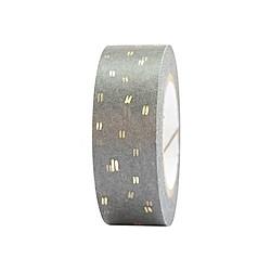 Tape, Struktur, Grau/Gold FSC Mix
