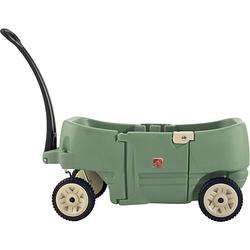 Bollerwagen 2 Kinder mit Tür  Kinder