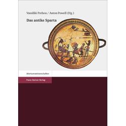 Das antike Sparta als Buch von