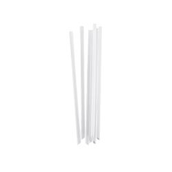 DUNI Bio-Strohhalm, Trinkhalm aus PLA, 19,6 cm lang, 1 Karton = 100 x 100 Stück = 10000 Strohhalme